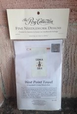 West Point Towel (Counted Cross Stich/Posy Collection)