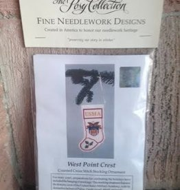 West Point Crest Stocking Cross Stitch(Posy Collection)