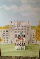 Color Guard Watercolor Card
