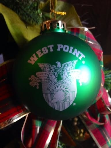Shatterproof Single Ornament (W PT/Crest), GREEN, One Sz