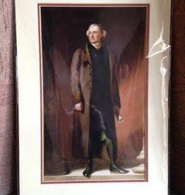 Thomas Jefferson Double Matted Print (13 x 19)
