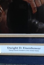 Dwight Eisenhower Matted Print (14 x 18)
