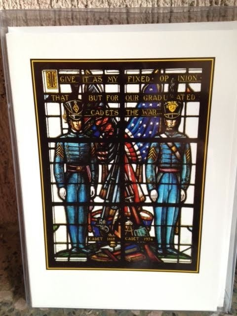 Cadets/Stained Glass Window Notecard Set