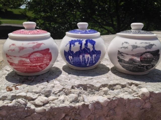 West Point China Sugar Bowl