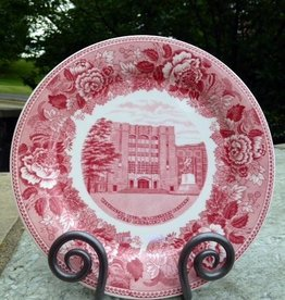 Washington Hall West Point China Dinner Plate in Rose