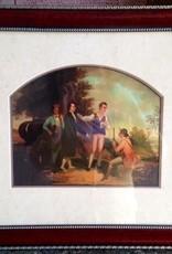 Capture of Major Andre (Framed Print, 16 x 20)