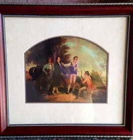 Capture of Major Andre (Framed Print, 16 x 20)