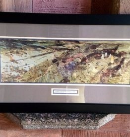 D-Day, Omaha Beach (18 x 33), Framed Print
