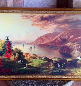 View From West Point, Framed Print (21 x 33)