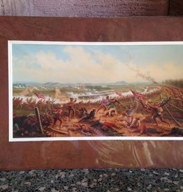 Gettysburg, The First Day (Matted Print)