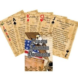 Famous American Documents Playing Cards