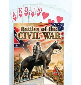 Battles of the Civil War Playing Cards (54 Scenes)