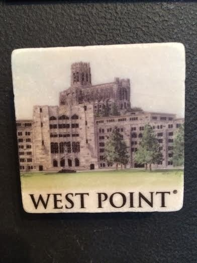 Washington Hall Stone Magnet
