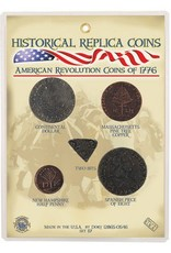 American Revolution Coins 1776