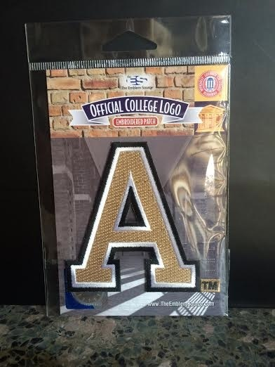 "Block ""A"" College Logo Patch"