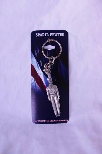Female Cadet Keychain