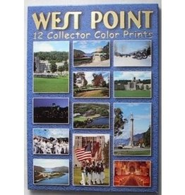 West Point: 12 Collector Color Print Postcards