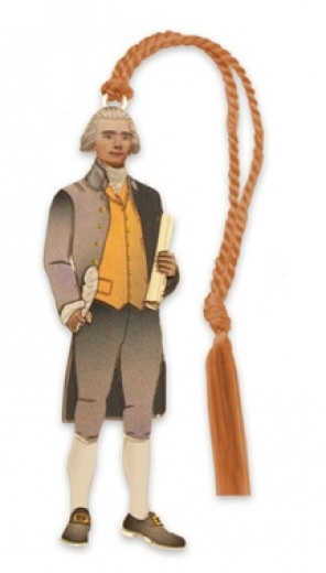 Thomas Jefferson Bookmark (D. Howell Co.)
