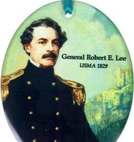 Robert E. Lee Glass Ornament (Museum Masterworks)