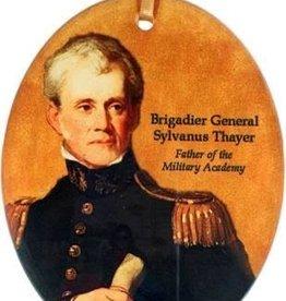 Sylvanus Thayer Glass Ornament (Museum Masterworks)