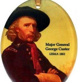 George Custer Glass Ornament (Museum Masterworks)