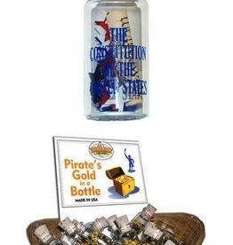 "Mini ""The Constitution of the United States"" in a Bottle"