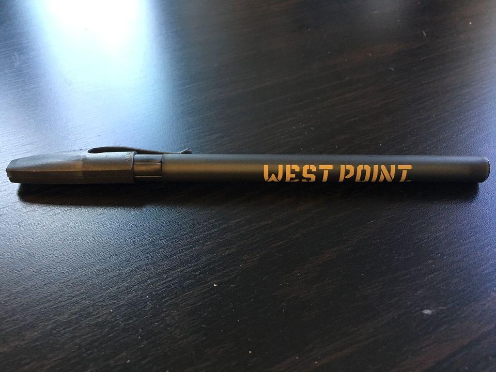 Black West Point Pen