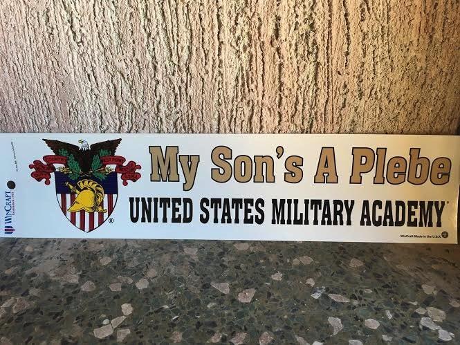 My Son's A Plebe Bumper Strip, 3 x 12