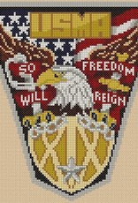 Class of 2019 Crest Cross Stitch Kit (The Posy Collection)