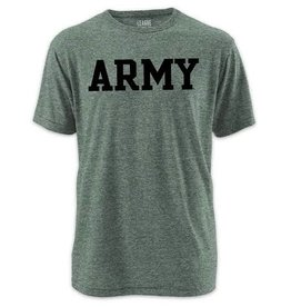 Victory Falls Twisted TriBlend ARMY Tee (League Collegiate)