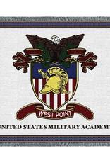 West Point Crest Throw Blanket (54 x 70)