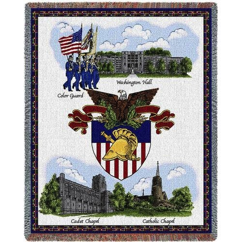 "West Point, USMA, Stadium Throw Blanket (54"" by 70"")"