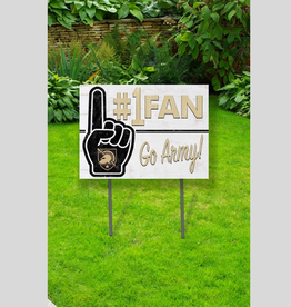 Lawn Sign/#1 Fan/GO ARMY