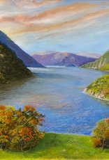 The Hudson From West Point Print, (8 x 10, Matted, Signed and Numbered) JG