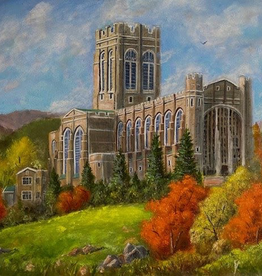 The Cadet Chapel Print, (11 x 14, Matted, Signed and Numbered) JG