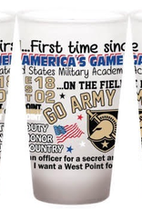 PREORDER: GO ARMY BEAT NAVY Frosted Pint Glass (16 ounce)