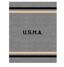 Cadet Gray USMA Spirit Blanket (62x80 inches)