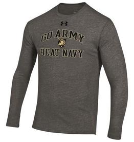 Under Armour Triblend Tee GO ARMY BEAT NAVY/Long Sleeve