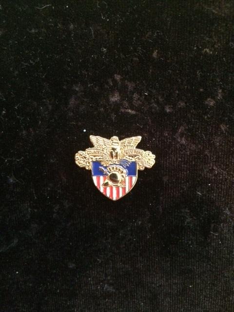 West Point Crest Lapel Pin