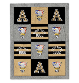 West Point Class of 2021 Crest Spirit Blanket (62 by 80 inches)