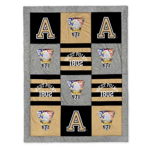 West Point Class of 2021 Crest Blanket (62 by 80 inches)