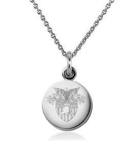 West Point Sterling Silver Necklace with Silver Charm