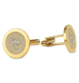 West Point Crest Cufflinks (Gold)