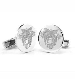 West Point Sterling Silver Cufflinks