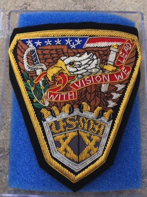 USMA Class of 2020 Bullion Patch (Special Order)