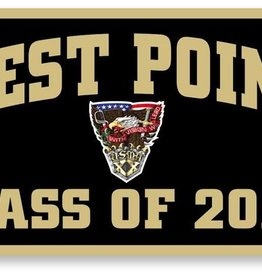 PREORDER: West Point Class of 2020 Crest Banner, 18 x 36 (Class Specific Crest)