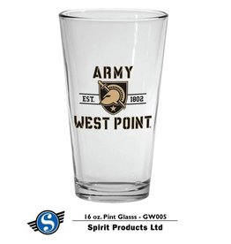Army West Point Pint Glass (16 oz.)