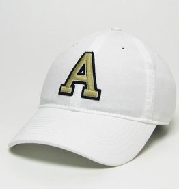 "Block ""A"" Relaxed Twill Baseball Cap (""West Point"" on Back)"