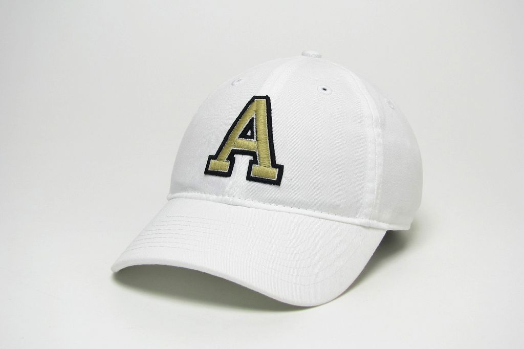 """Block """"A"""" Relaxed Twill Baseball Cap (""""West Point"""" on Back)"""