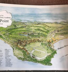 West Point Souvenir Map